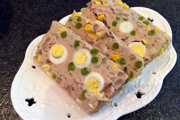 花式午餐肉(鹌鹑蛋肉饼)的做法