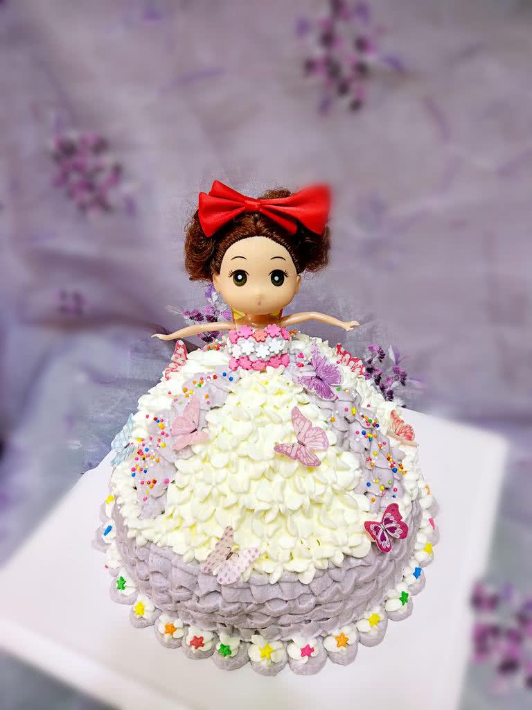 芭比公主生日蛋糕