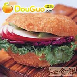 蔬菜低卡馅三明治的做法