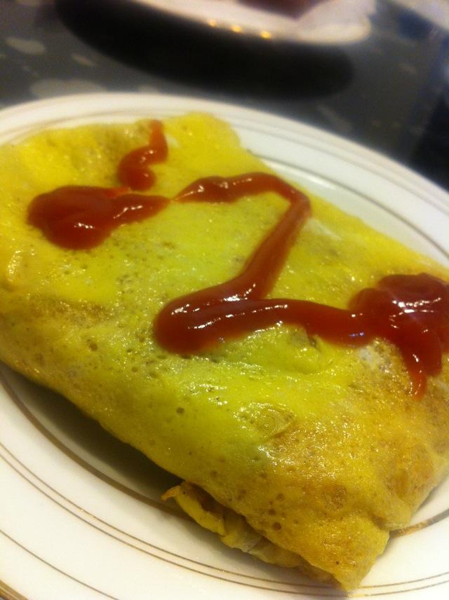 蛋包饭的做法图解6