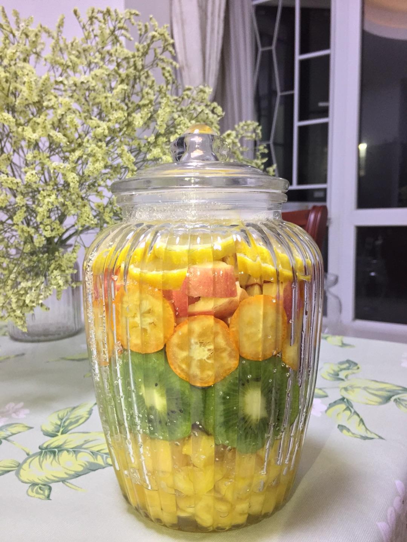 幼儿园瓶盖水果作品图片