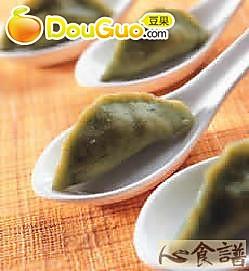 一口鲑鱼饺的做法