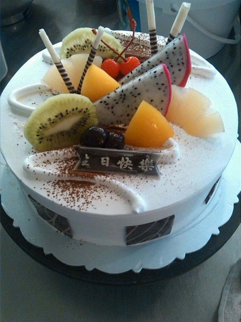 生日蛋糕的制作的做法步骤