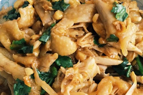香菜,辣椒油少许 手撕鸡的做法步骤        本菜谱的做法由 小画5