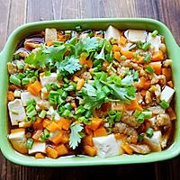 虾干蒸豆腐#我要上首页清爽家常菜#的做法图解10