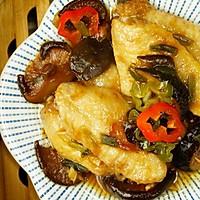 菇香鸡中宝丨只要三步,就能吃到原汁原味的鸡翅【微体兔菜谱】