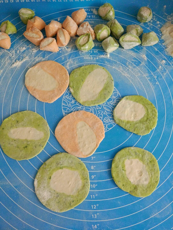 果语美食-彩色饺子的做法图解10
