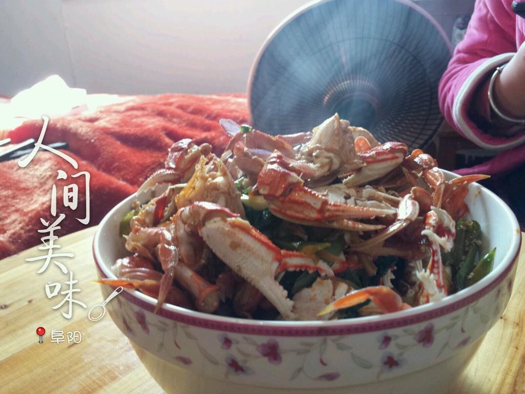 红烧海螃蟹的做法图解2