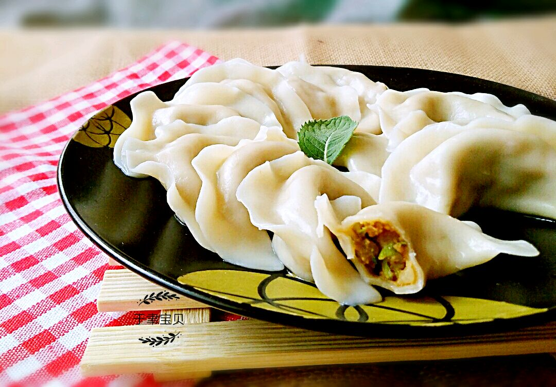 豆角猪肉饺子的做法图解9