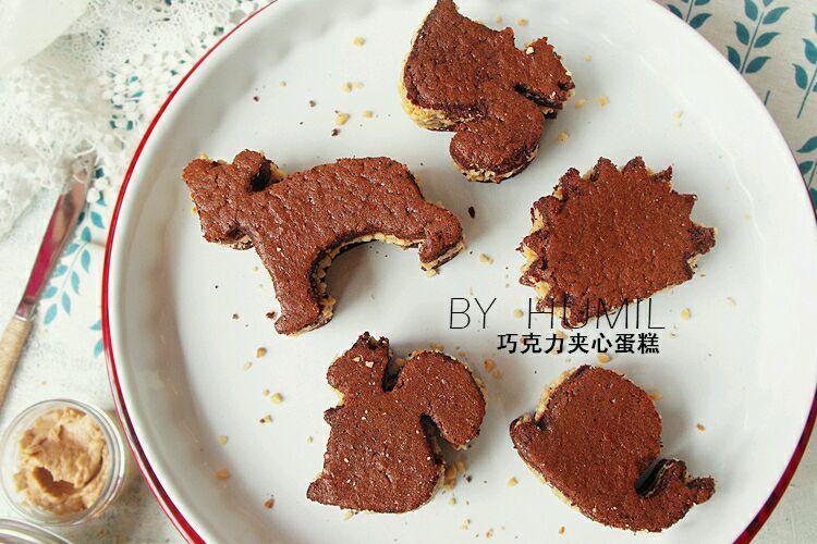 动物巧克力夹心蛋糕#宜家让家更有味
