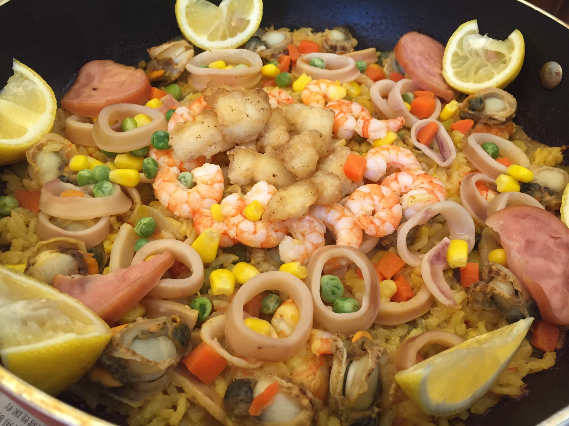 西班牙海鲜饭
