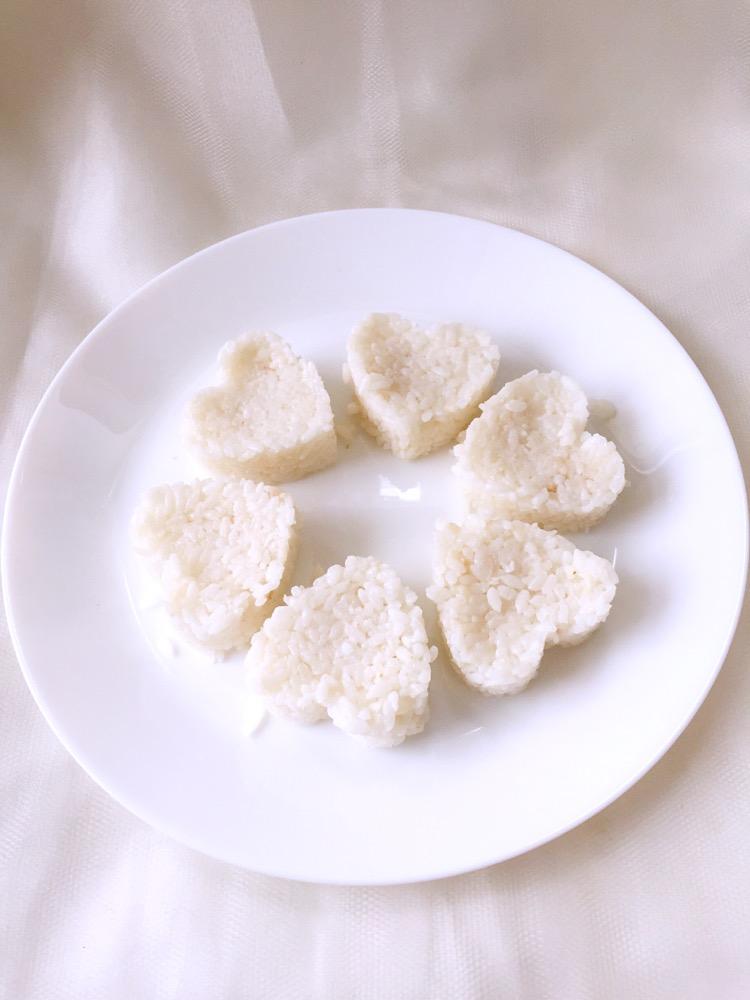 心形米饭做法图解