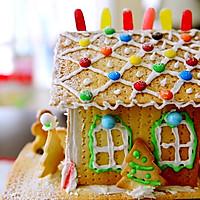 童话世界-圣诞姜饼屋和圣诞树的做法图解31