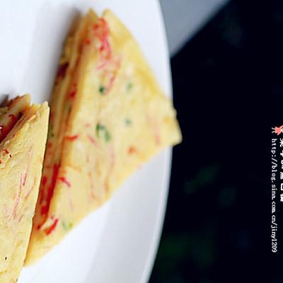 鸡蛋蔬菜煎饼的做法_【图解】鸡蛋蔬菜煎饼怎么做