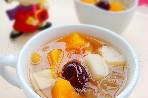 马蹄银耳木瓜糖水的做法