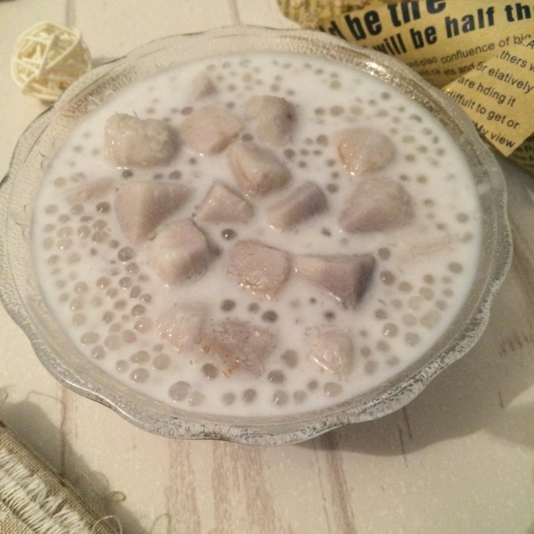 超简版香芋西米露的做法图解9