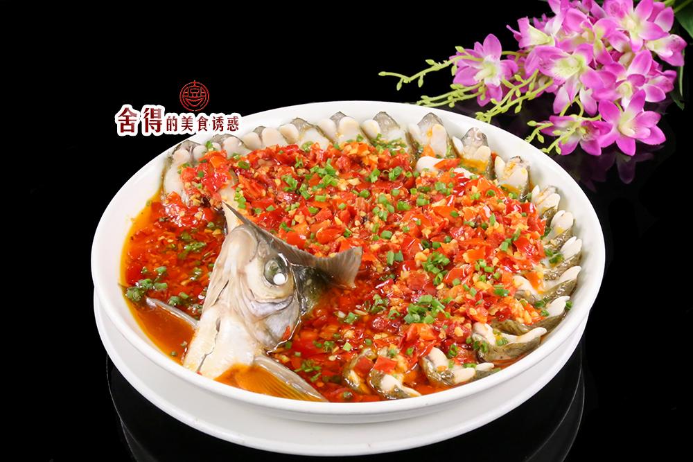 切墩(初级)   时间:10-30分钟       主料 鳊鱼1条 辅料   剁辣椒适量