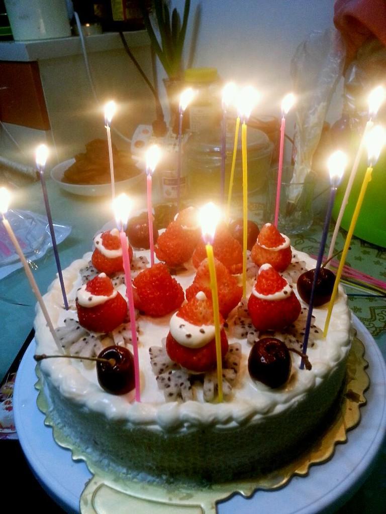 生日蛋糕的做法图片