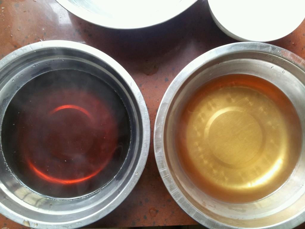 红茶绿茶(椰汁)马蹄糕的做法步骤