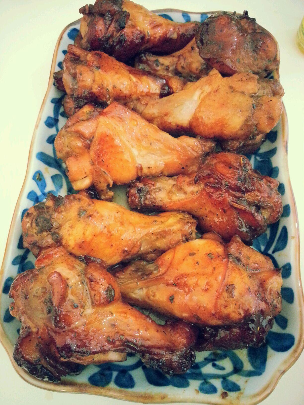 北欧风味喜马拉雅粉红海盐烤鸡翅