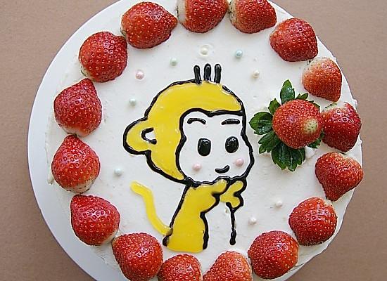 小猴生日蛋糕        本菜谱的做法由