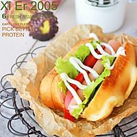 沙拉热狗包#丘比轻食厨艺大赛#的做法图解18
