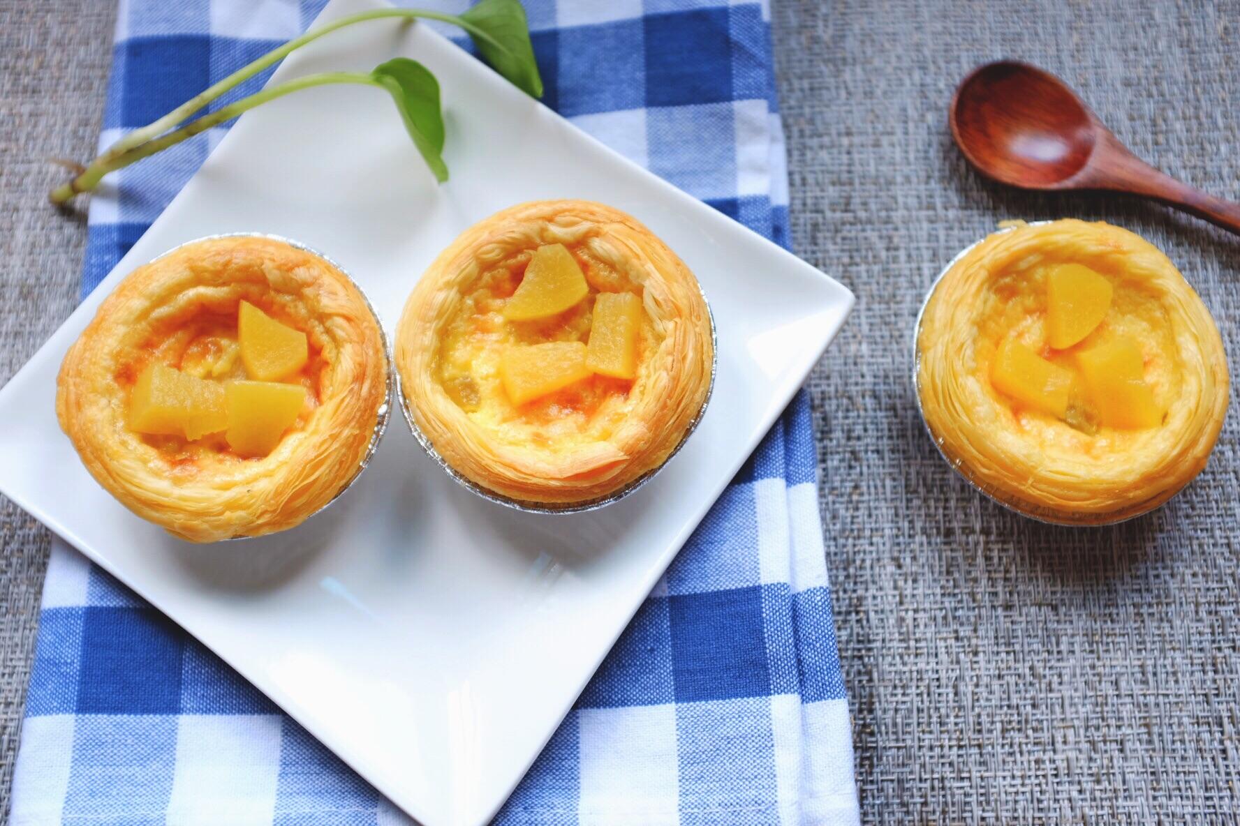 黄桃的城堡-蛋挞的做法图解15