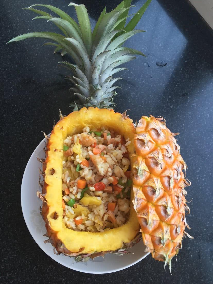 简易菠萝饭