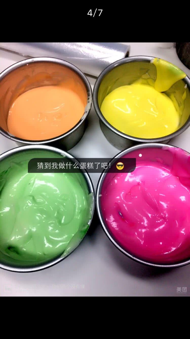 彩虹蛋糕·渐变图片