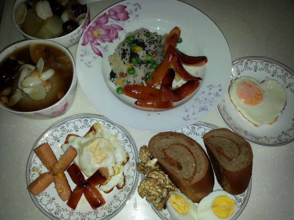 营养美味的早餐