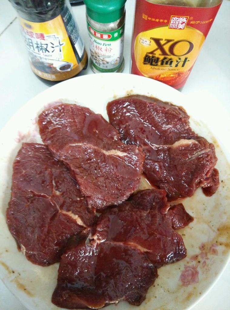 黒椒牛排意面的做法步骤