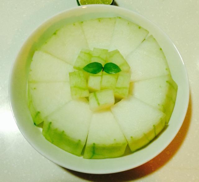 原味蒸冬瓜的做法_【图解】原味蒸冬瓜怎么做如何做