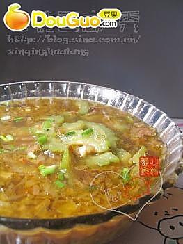 苦瓜酸菜汤的做法