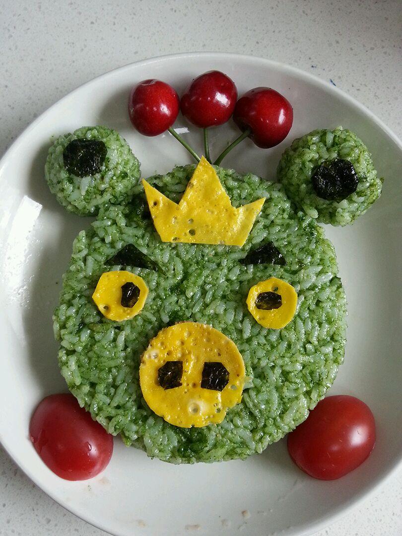 菜汁饭之绿肥猪(宝宝食谱)的做法图解13