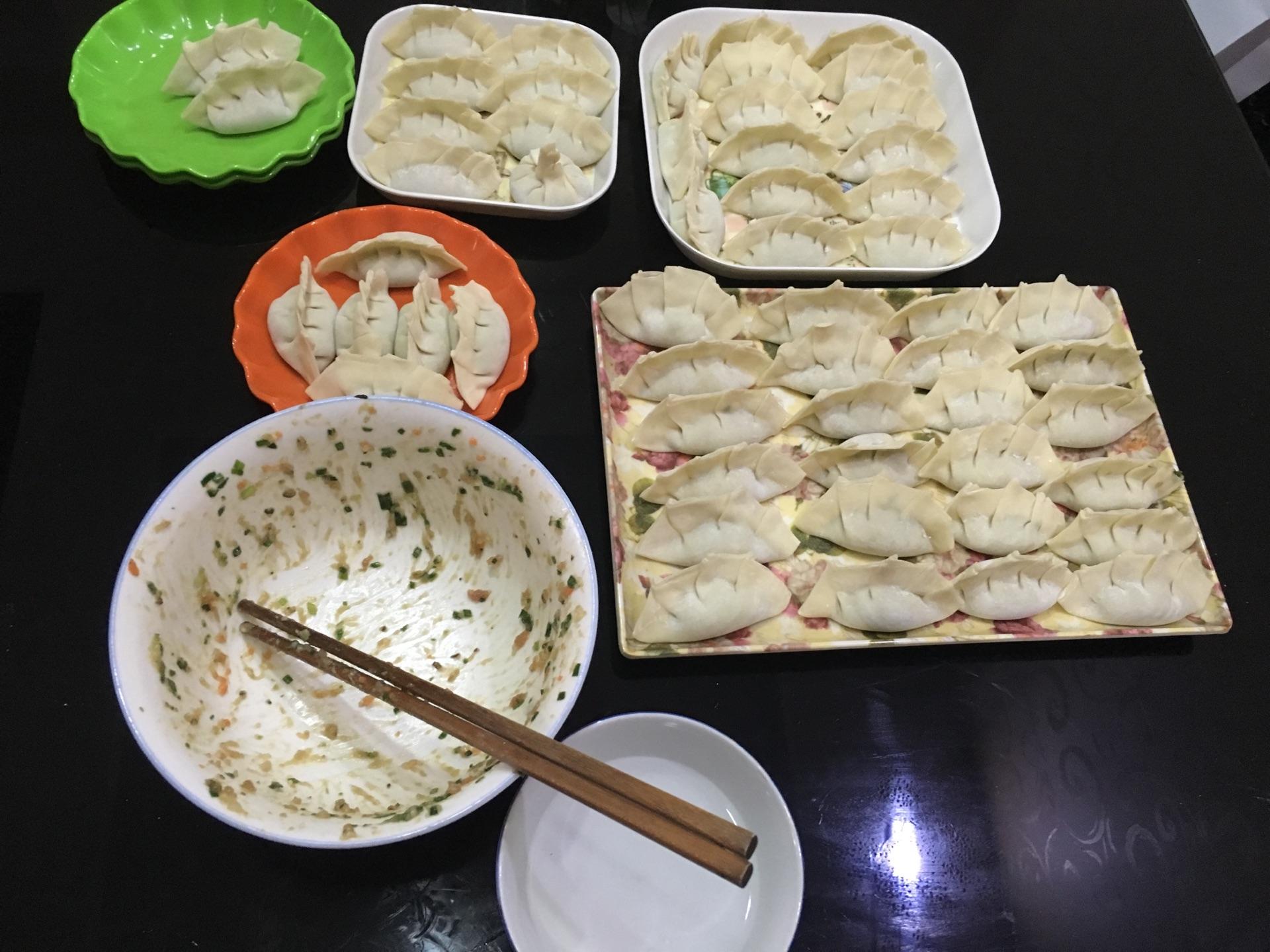 韭菜饺子的做法图解9