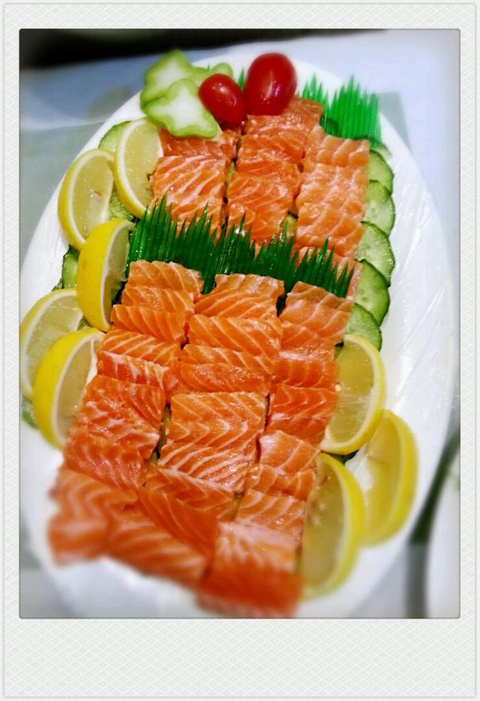 三文鱼的做法图解1