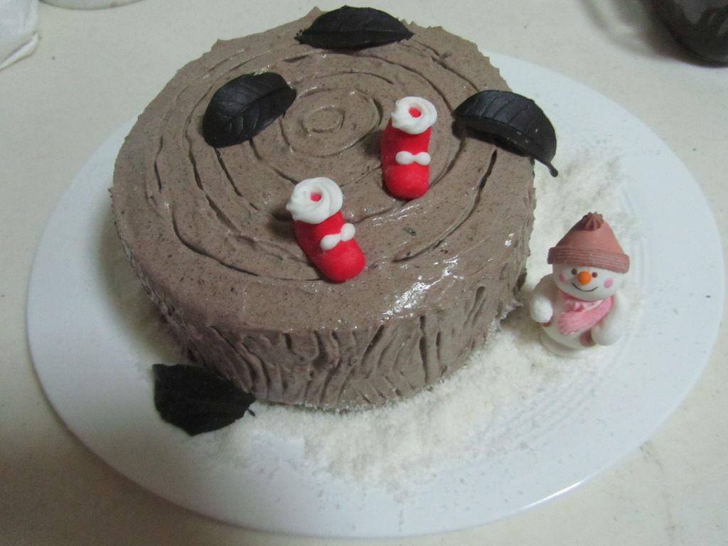 树根蛋糕的做法图解18