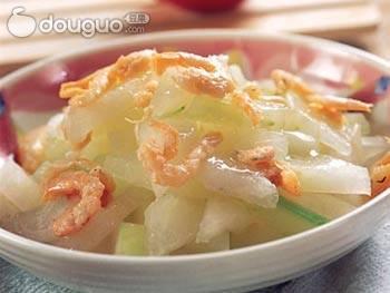 海米冬瓜的做法_【图解】海米冬瓜怎么做如何做好吃