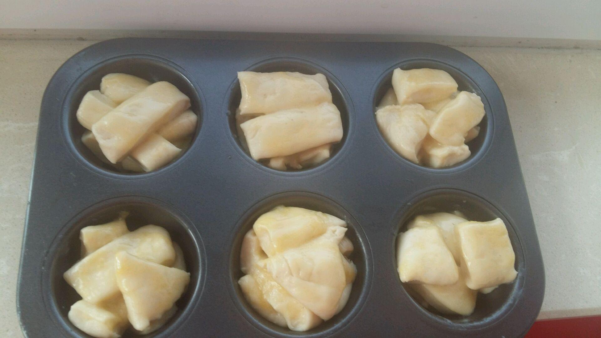 炼乳甜面包的做法_【图解】炼乳甜面包怎么做如何做