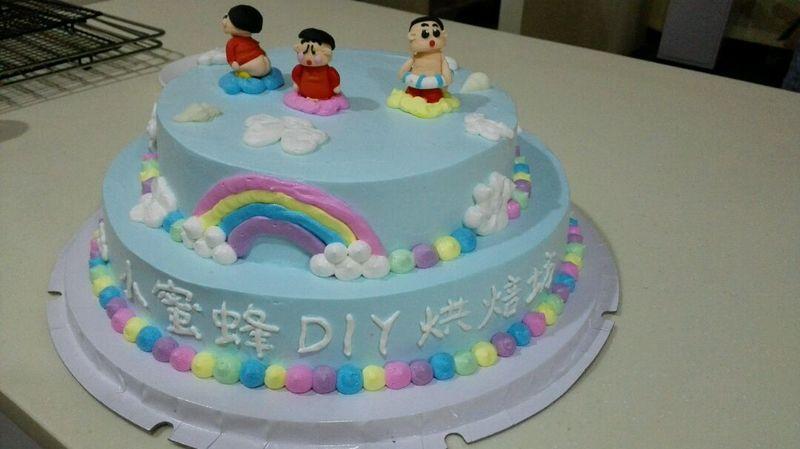 明天要给幼儿园送一个蛋糕