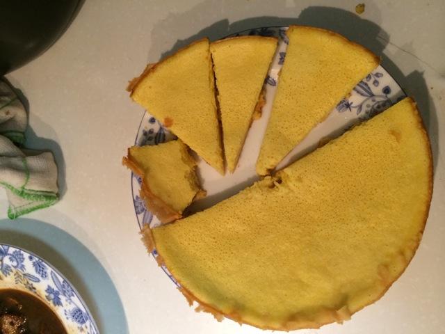 辅料   盐1小勺 糖2小勺 橄榄油2小勺 电压力锅做蛋糕的做法步骤 7.