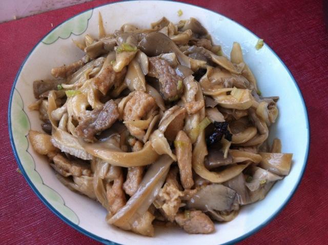 蘑菇炒肉片的做法_【图解】蘑菇炒肉片怎么做如何做