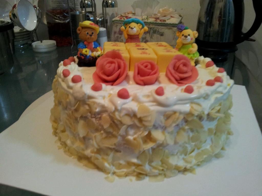 麻将生日蛋糕的做法_【图解】麻将生日蛋糕怎么做