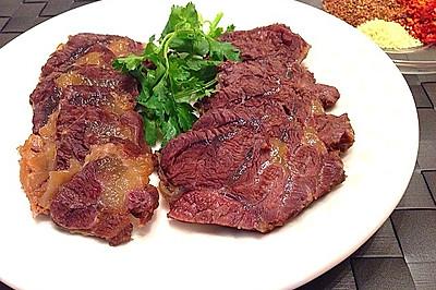 家庭卤水牛肉的制作