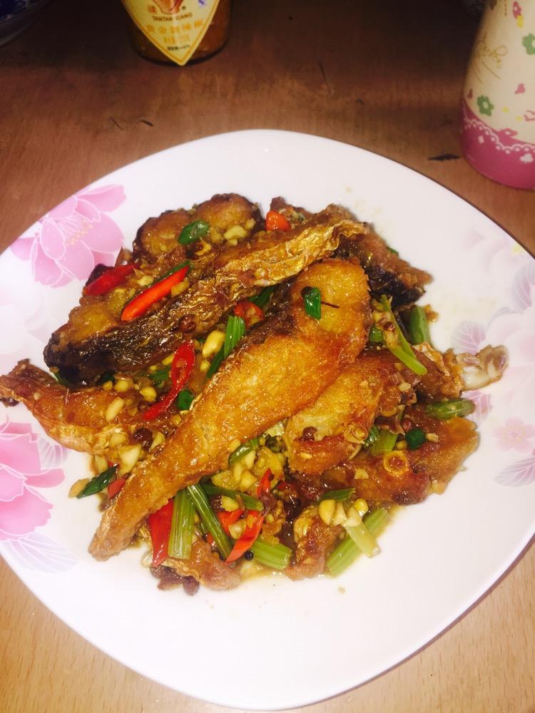 香辣鱼块的做法_【图解】香辣鱼块怎么做如何做好吃