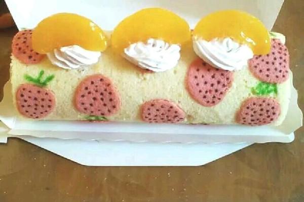 手绘蛋糕卷的做法_【图解】手绘蛋糕卷怎么做如何做