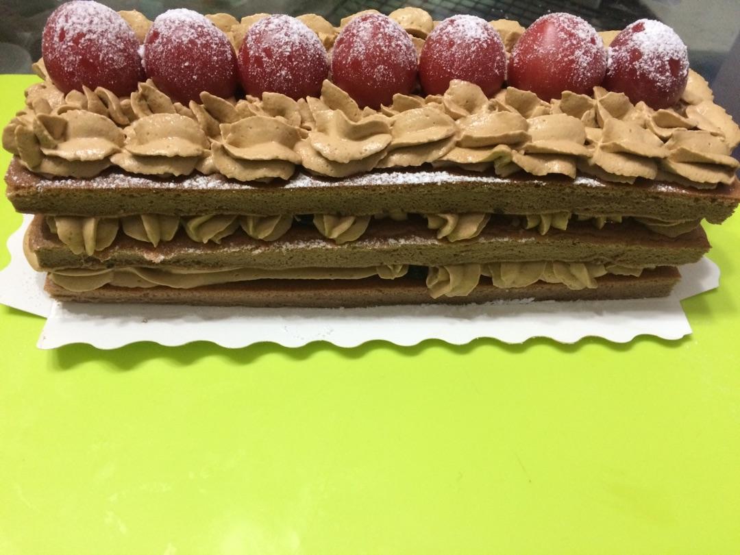 巧克力蛋糕的做法图解1