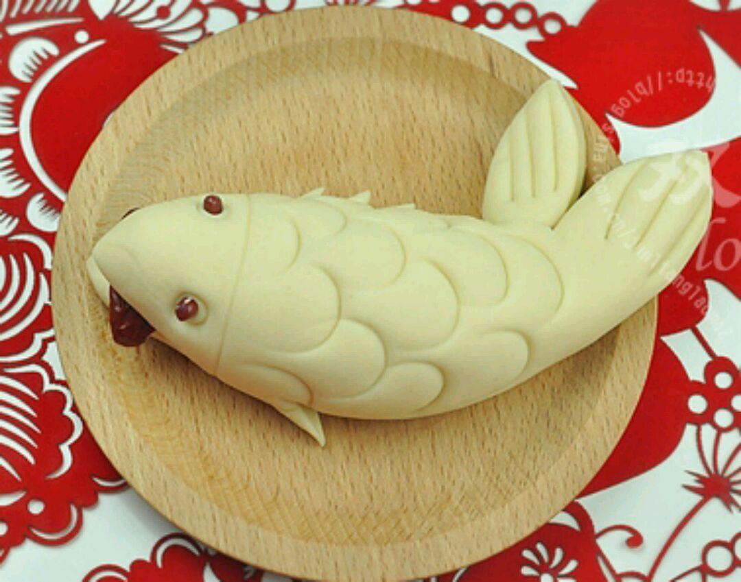 适量 大枣适量 鱼馒头的做法步骤 小贴士 小贴士:   1,造型馒头,一定