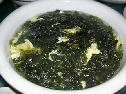 紫菜汤图片