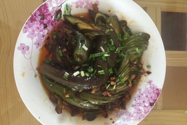 肉末茄子的做法